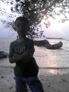 Sunset di Pulau Umang