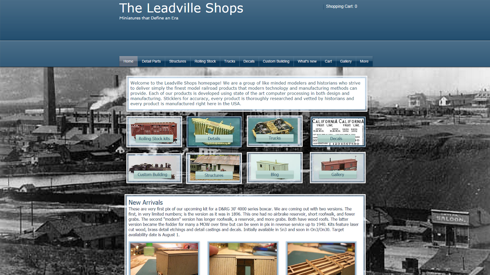 The Leadville Shops: