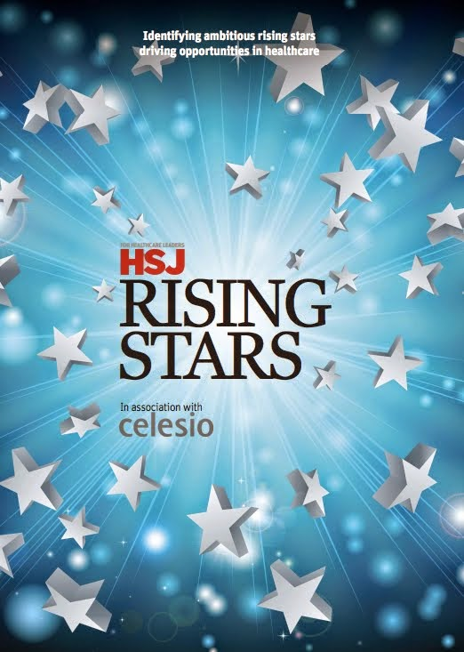Listed as a Health Service Journal Rising Star 2015