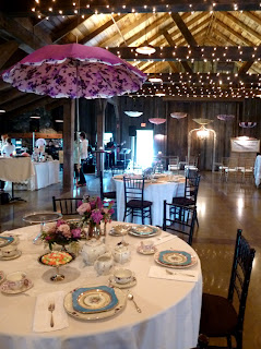 Vintage Dish Company displayed at Vintage Bridal Happy Hour - Posted by Patricia Stimac, Seattle Wedding Officiant