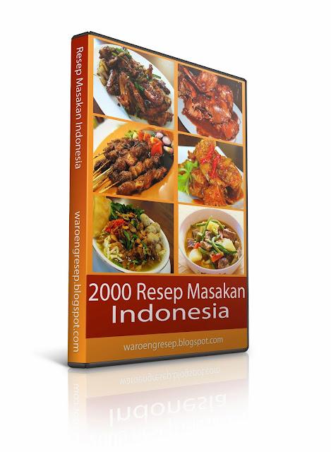 PAKET RIBUAN EBOOK RESEP MASAKAN INDONESIA NUSANTARA TERLENGKAP