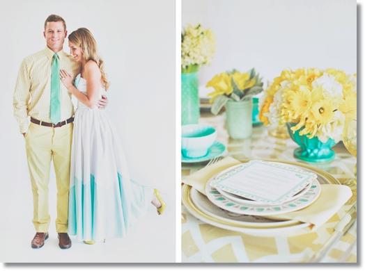 dukning påsk, dukning gul, dukning turkos, dukning gul och turkos, påskdukning gul och turkos, Yellow  Turquoise Table setting Easter, yellow table easter, turquoise table