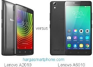 Harga dan Perbedaan Lenovo A2010 dengan A6010