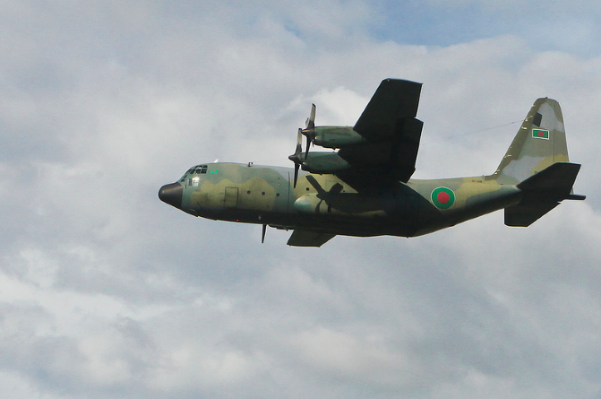 C-130B of Bangladesh