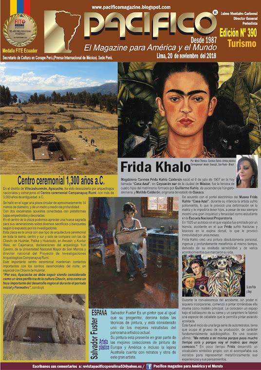 Revista Pacifico N° 390 Turismo