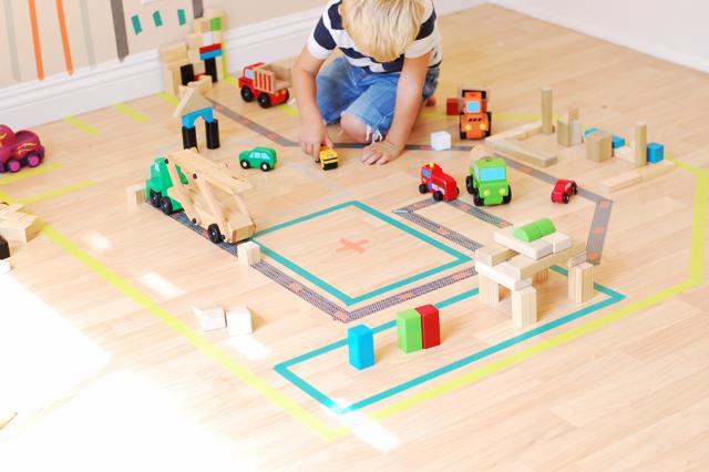 Build a Washi Tape City