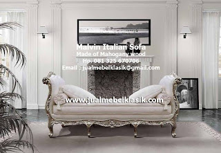 Supplier Classic Furniture Indonesia wooden mahogany sofa carved handmade sofa supplier wooden sofa from Jepara