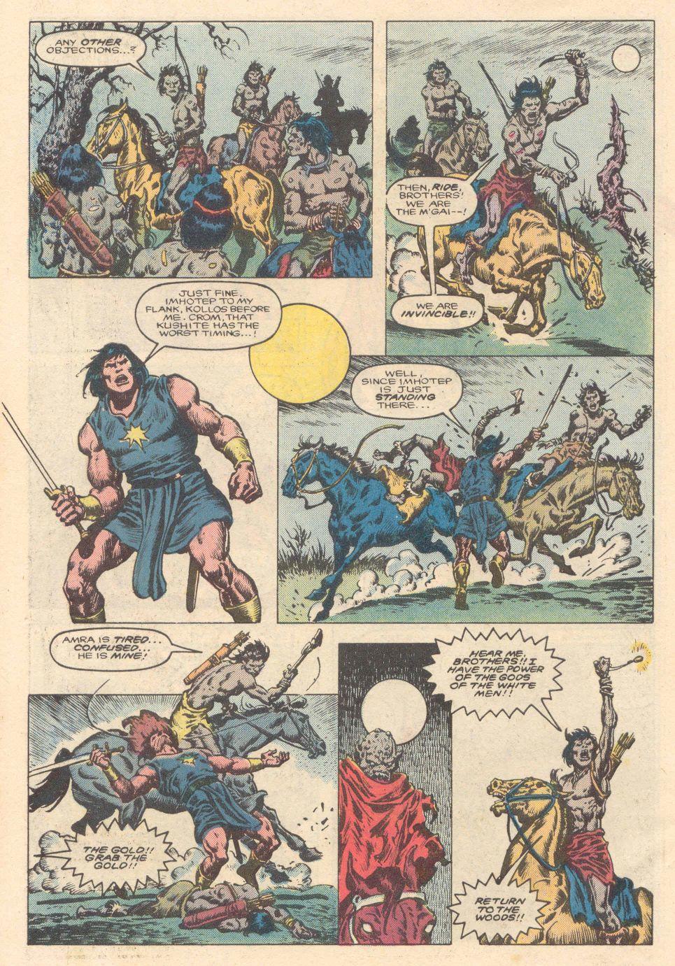Conan the Barbarian (1970) Issue #183 #195 - English 5