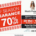 28 May - 7 Jun 2015 Hush Puppies Apparel Off season Clearance Sales