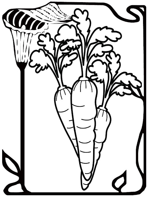 The Carrot Seed Kids Coloring Pages