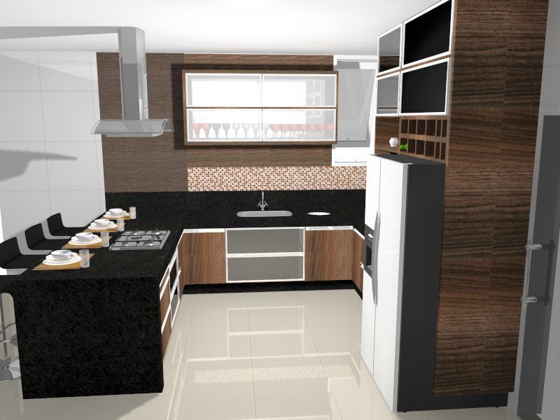 Construindo um Castelinho: Projeto da Cozinha Planejada