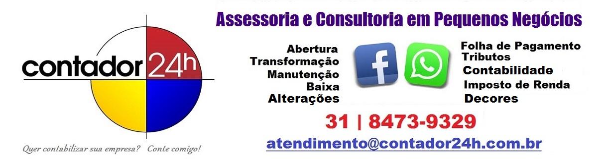 .:. Blog Contador 24h .:. (31) 8473-9329 .:. Acesse nosso site: www.contador24h.com.br .:.