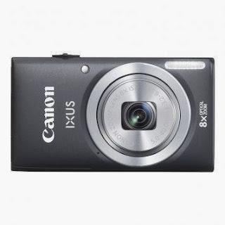 Canon Ixus 135 - Hitam