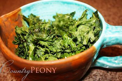 baked kale recipe