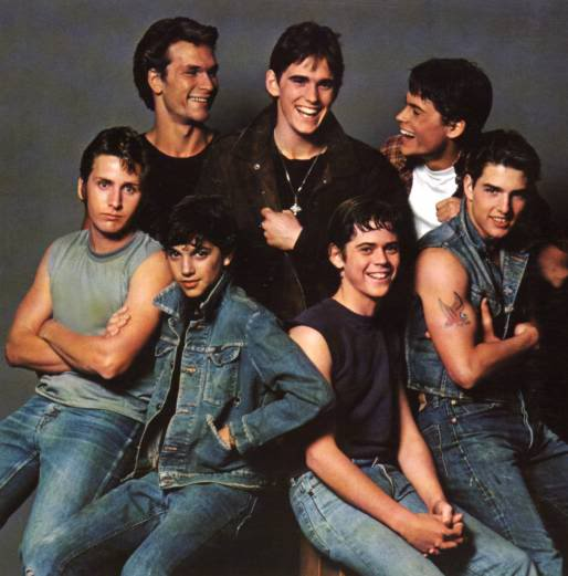 The Outsiders Rob Lowe Shower Go Back > Gallery F...