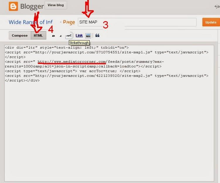 sitemap code