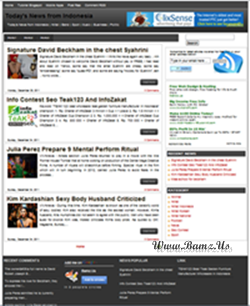 B-Seo V2 Blogger Template