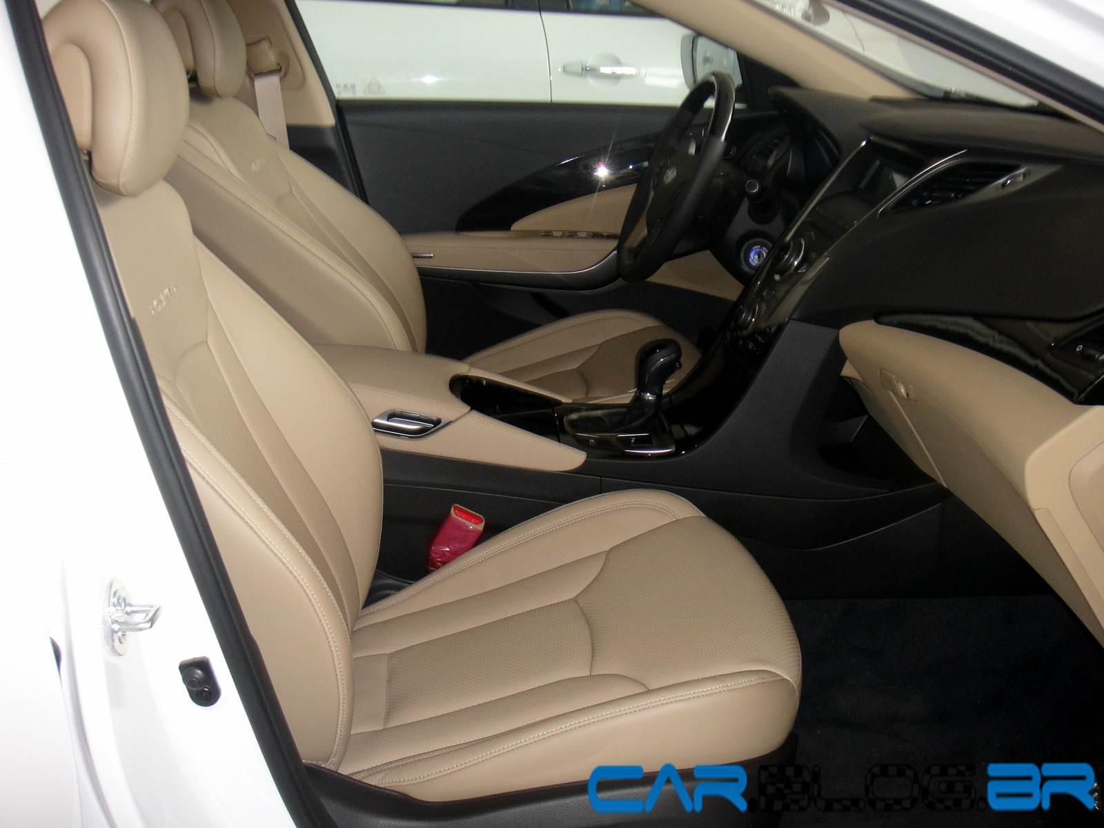 Hyundai Azera Branco Com Interior Bege R 5 000 Reais