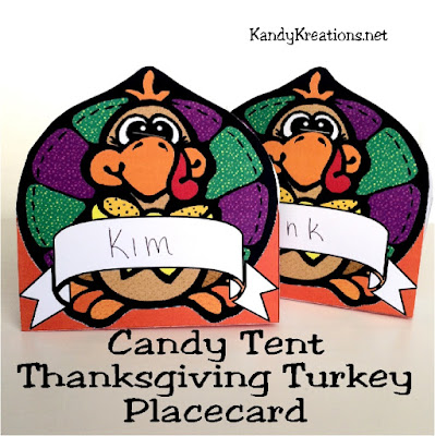Make Thanksgiving a little easier with this super cute Turkey place card printable.  Add a name and a little bit of chocolate sweetness and you have the perfect place card setting to keep your guests happy until dinner starts.