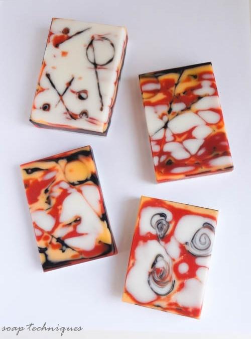 New soap technique - Mokume Gane
