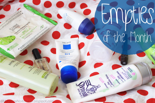 Empties of the Month