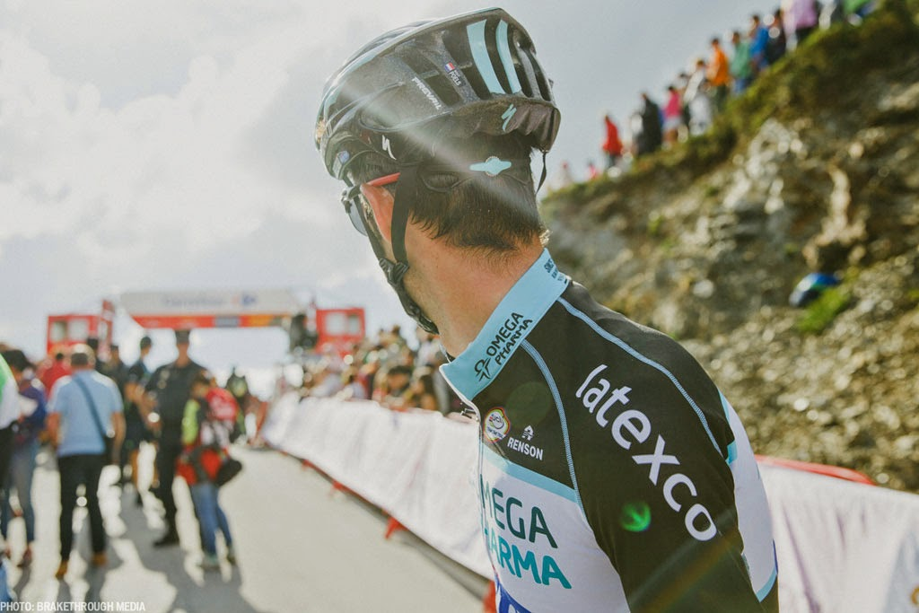 [photo]通気性とアジャスタビリティーの良さがうかがえるPrevailヘルメットの後部
