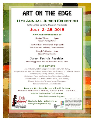 Eleventh Annual Juried Art Show at the Edge Center Gallery in Bigfork - Edge Center for the Arts