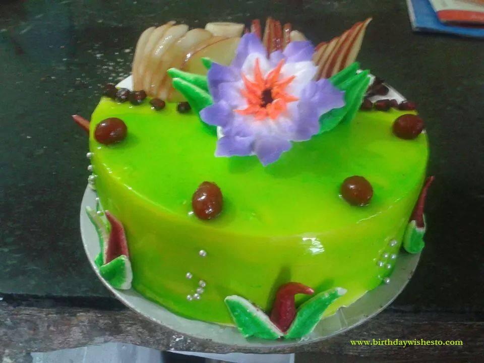 Green Pine Birthday Cakes