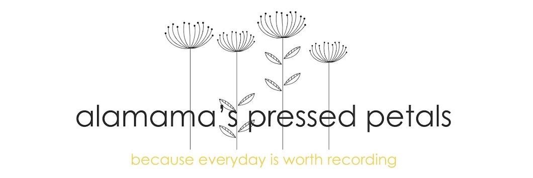 Alamama's Pressed Petals