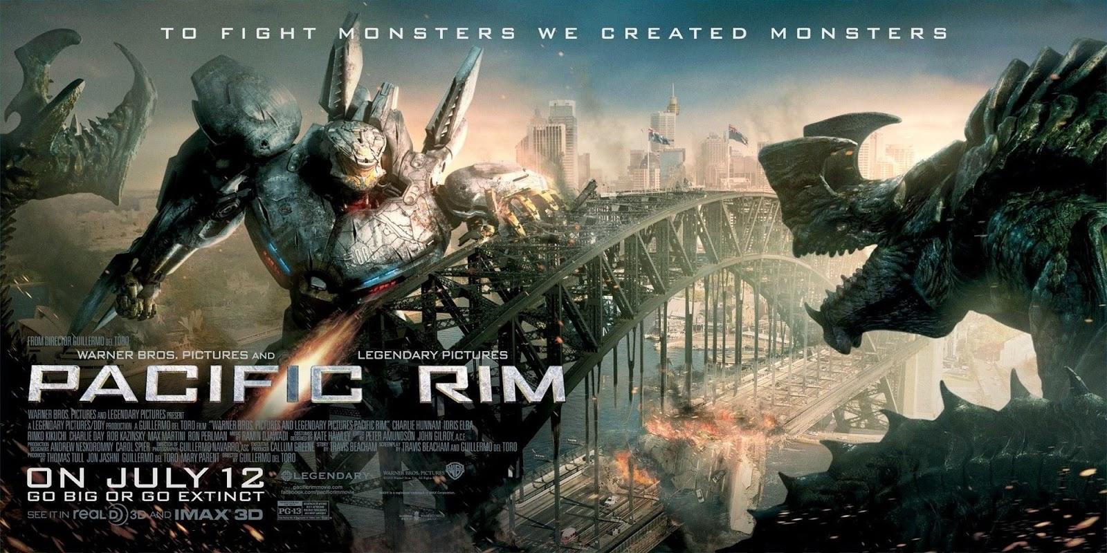 Kemarin akhirnya nonton sebuah film yang berjudul pacific rim karena sekarang harga tiket nonton luar biasa mahal jadi liatnya yang 2d aja sih