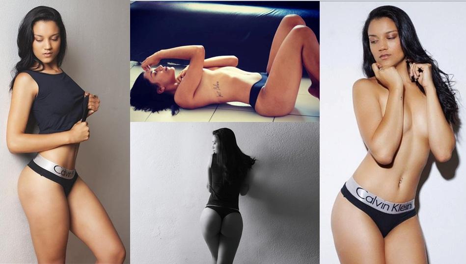 Modelo faz ensaio arrasador e mostra corpo perfeito diante das câmeras