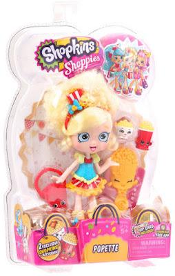 TOYS : JUGUETES - SHOPKINS : Shoppies Popette | Muñeca - Doll Producto Oficial 2015 | A partir de 5 años Comprar en Amazon España & buy Amazon USA