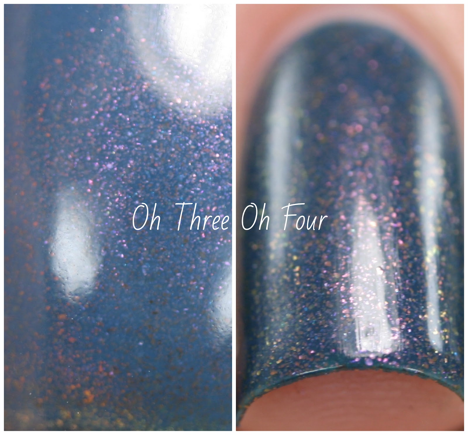 Orly Color Blast Violet Blue Swatch