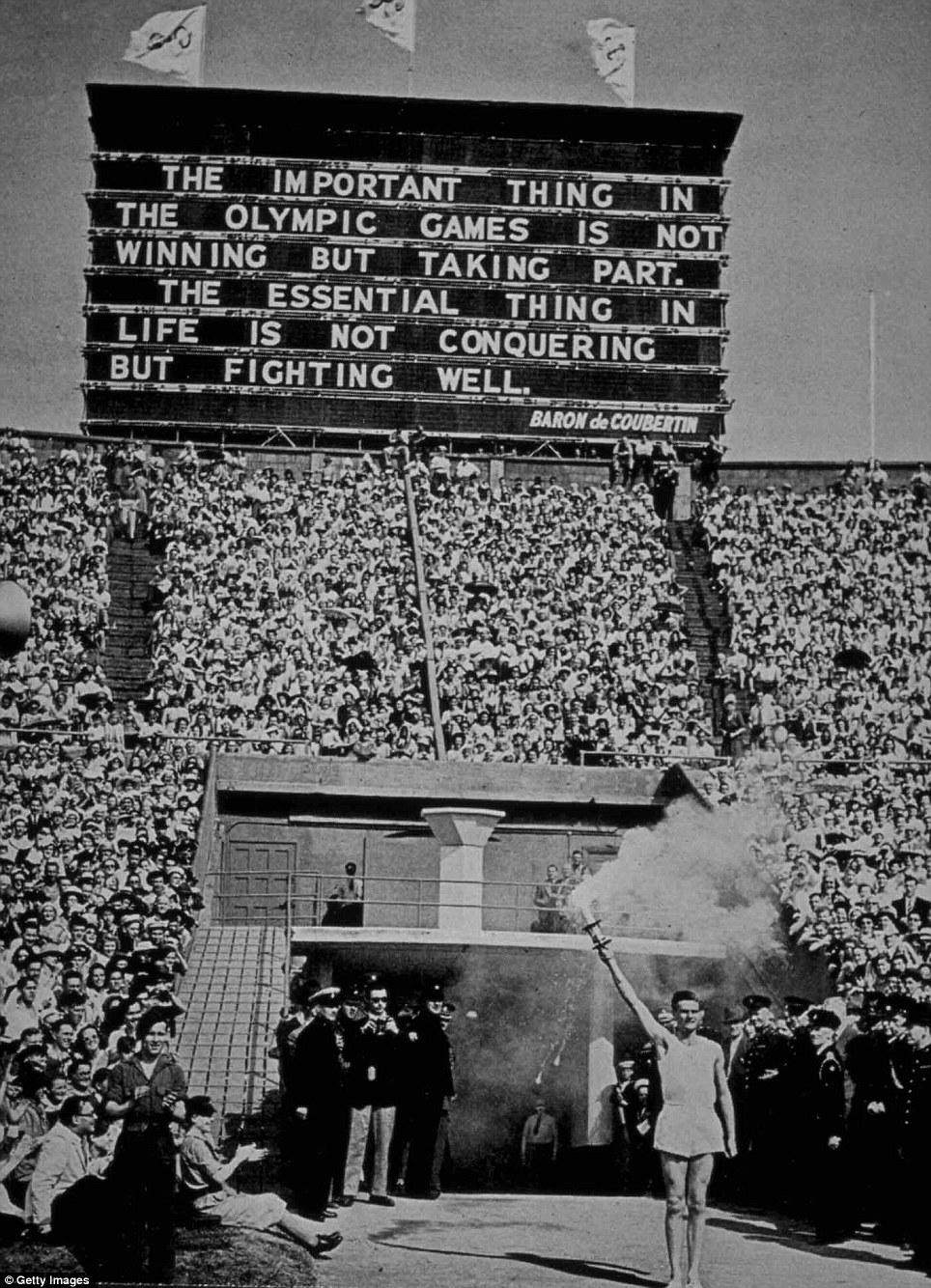 London Olympics 1948 Photos Vintage Everyday