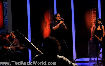 SHAFQAT AMANAT ALI @ COKE STUDIO INDIA (Pictures)