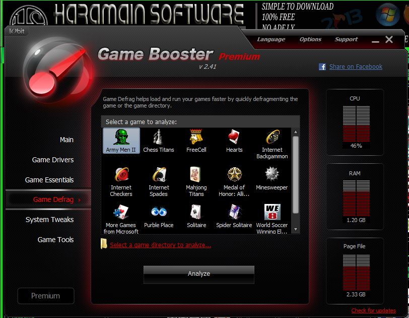 Game booster v2 premium. Link Download.
