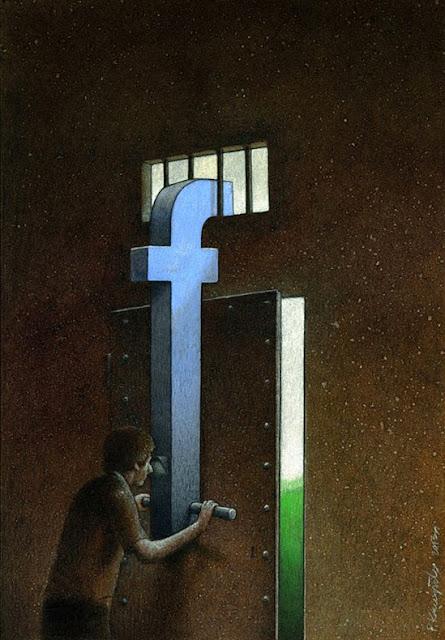Ilustraciones satíricas reflexionar Pawel Kuczynski