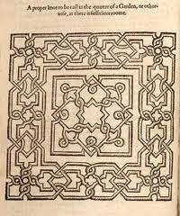 English historical fiction authors the elizabethan for Tudor knot garden designs