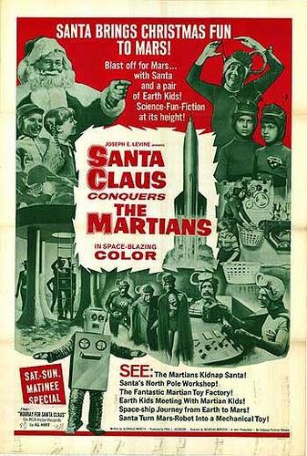 "ESPECIAL NAVIDAD. DIA 20: ""Santa Claus conquers the martians"" (1964) de Nicholas Webster."