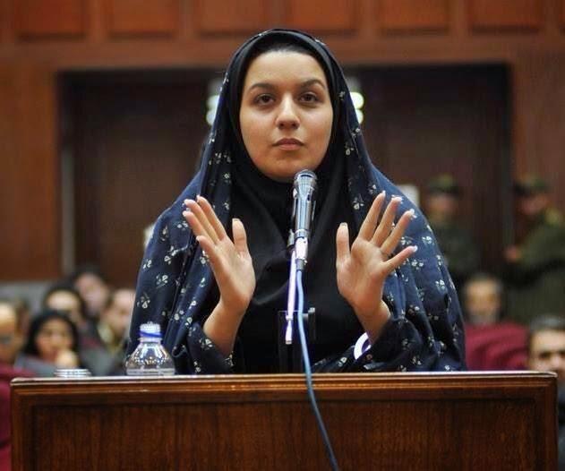 """الإعدام بحق """"ريحانة جباري"""" التي قتلت رجل استخبارات اعتدى عليها جنسيًا"""