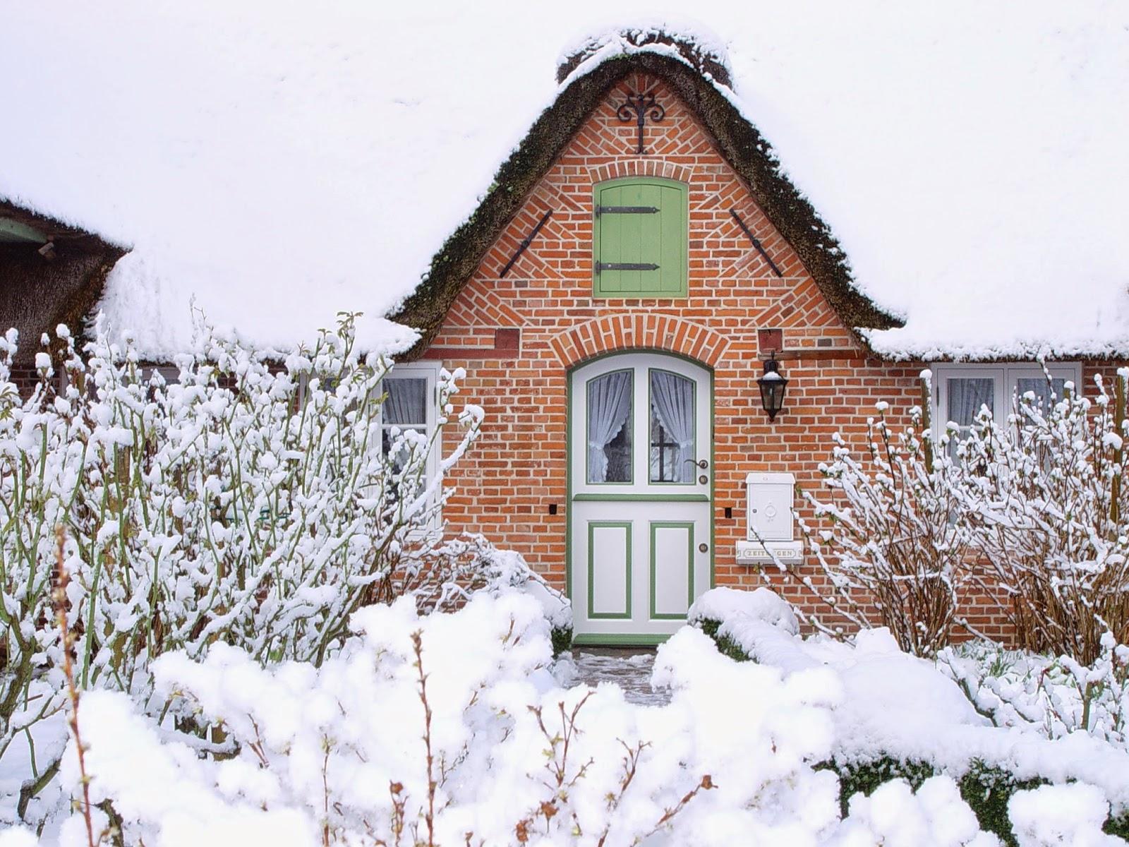 Winterfoto mit Schnee St. Peter-Ording