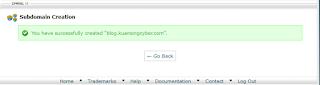 menambahkan subdomain dari domain utama
