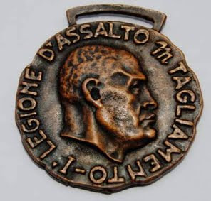 Medaglia originale in conio del 1944