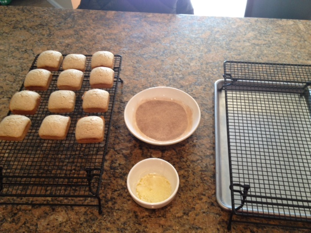 My Pampered Kitchen Adventures Mini Cinnamon Sugar Loaves