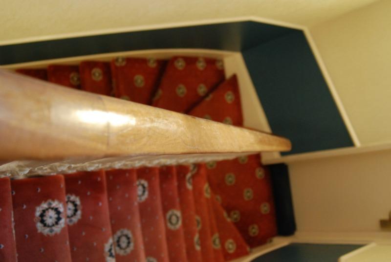 londra scale moquette