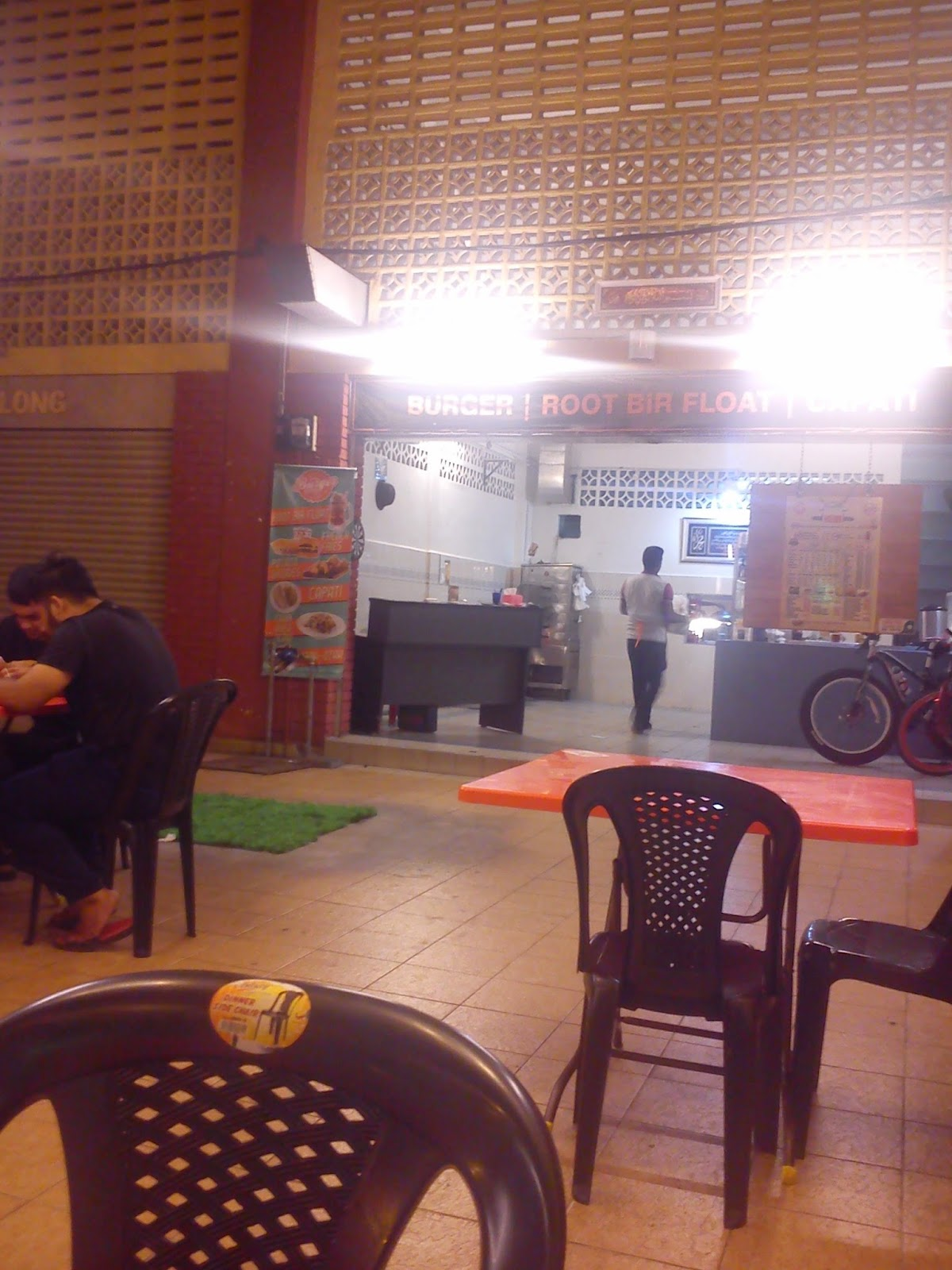 Review tempat makan sedap di Seremban Kacang Pool Stadium Paroi