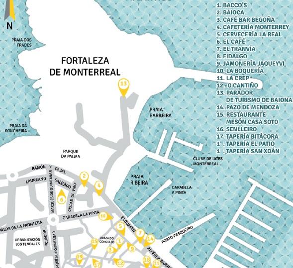 Concurso tapas baiona 2012 turismo galicia - Casa soto baiona ...