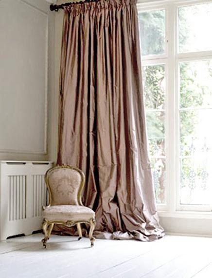 Alamodeus Loving Silk Taffeta Curtains