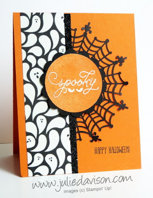 Stampin' Up! Spooky Halloween Among the Branches Card #stampinup www.juliedavison.com