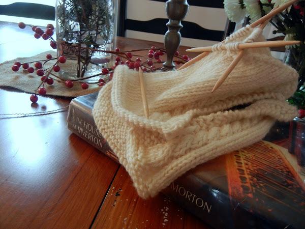 Yarn Along 12/21/11